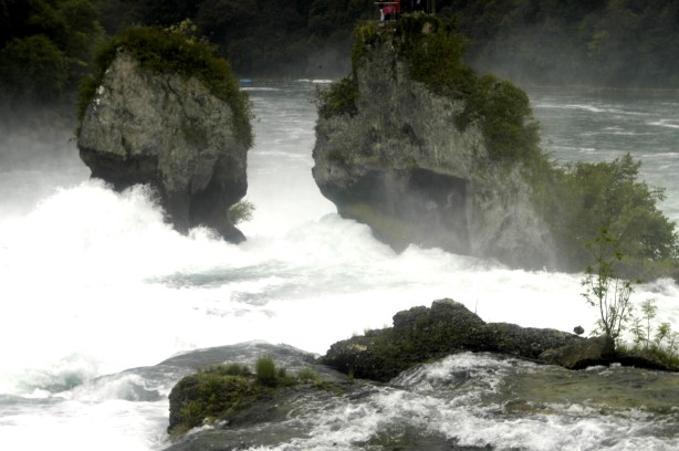 An impression of the Rhine Falls